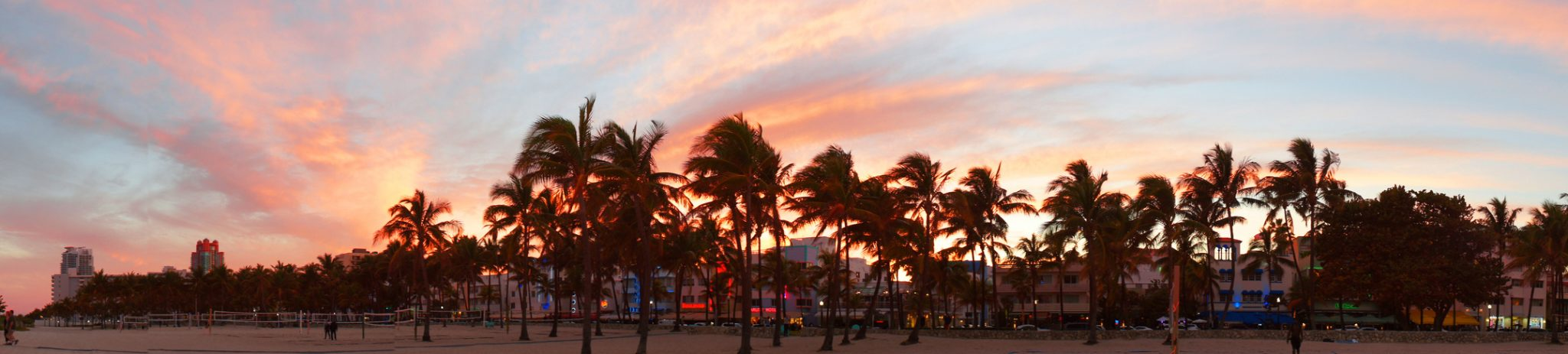 On The Beach In South Beach